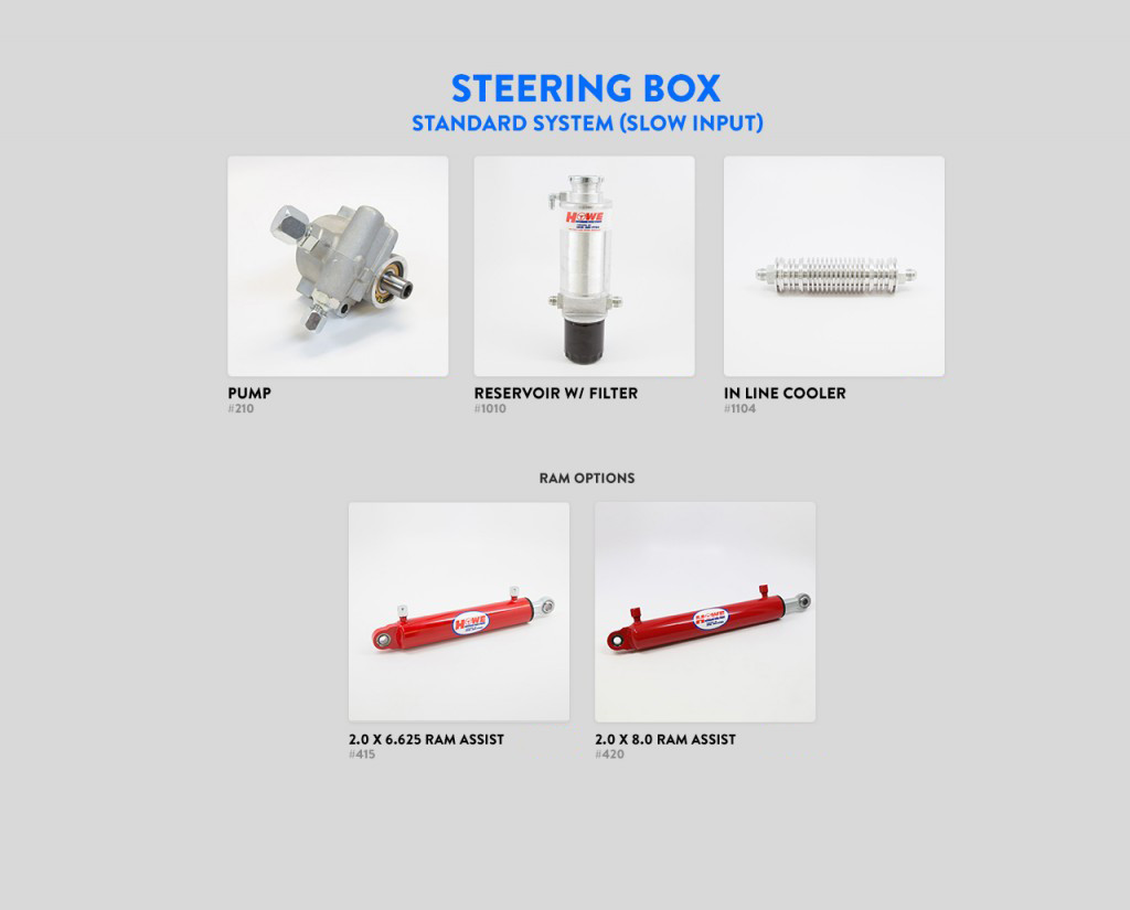 Steering Boxes Parts Categories Howe Jeep Gear Box Diagram Standard System