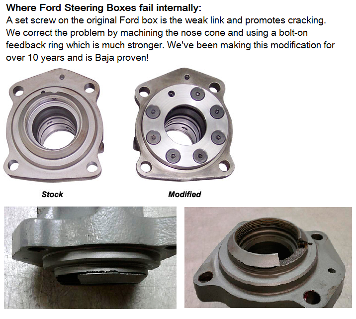 Steering Boxes | Parts Categories | Howe